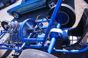 Early Flathead Dragster-Detail. by StallionDesigns