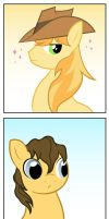 Everypony's gay for Braeburn by LittleHybridShila