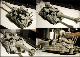 LEGO Mobile Artillery by Frohickey