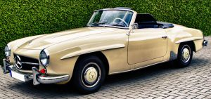 Mercedes 190 SL BJ 1962 by MyPhotos-Chris
