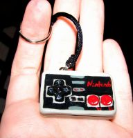 NES Controller Charm Commission! by TheyUsedTo