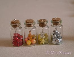 Charm Bottles by Moon-Q