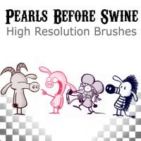 PEARLS BEFORE SWINE BRUSHES by Love2B