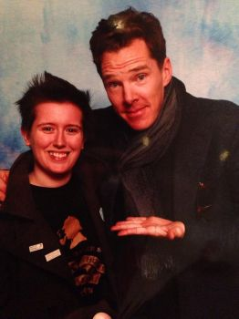 Myself and Benedict Cumberbatch! by BartyJnr
