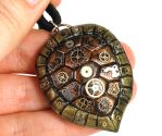 Gear Turtle Shell Pendant by CatharsisJB