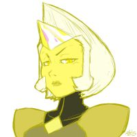 Yellow Diamond doodle by Mad-projectNSFW