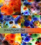 Glassflower-Set by YBsilon-Stock