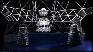 The Emperor Dalek (Colour) by the-least