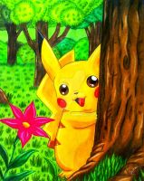 A Pikachu for you by Shi-m