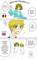 Hetalia - Let's be friends, England by megane-no-buta