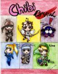 SSBB Characters -Chibi X3- by nao1789
