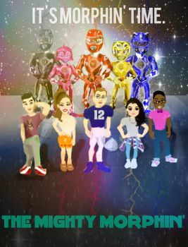 THE MIGHTY MORPHIN COMING 2017 by LeveyYes
