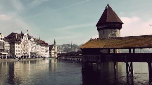 Luzern Bridge by Cromium