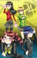 Girls of Persona 4 by MagicalSakura