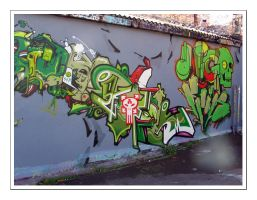 Graffiti III by moonstomp