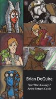 Star Wars Galaxy 7 - Return Cards by bdeguire