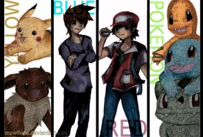 Pokemon RBY by MewFiona