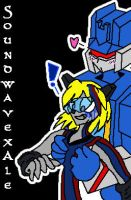 Couple: SoundwavexAle by miraibaby