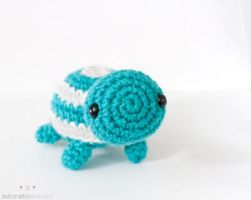 Striped Turtle 2 by tinyowlknits