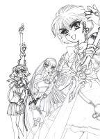 magic knight rayearth 3 by krow000666
