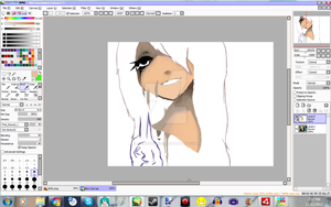 Can't I Even Dream Sophia Ander WIP by AnimeGurl1012