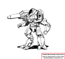 Conquistador Assault Mech by Excalibur-T005