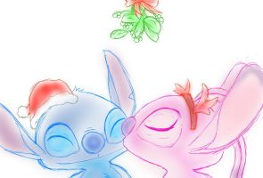 Under the Mistletoe by unknownlifeform