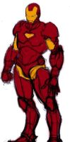 iron man standing pose study by try1001me