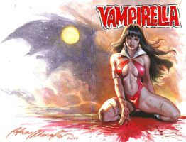 Vampirella commission by felipemassafera