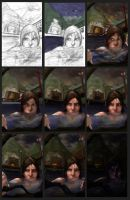 Lara1 Time Lapse by Asher629