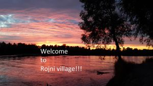 Welcome to Rojni village card by KunYKA