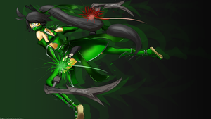 Flight of the Ninjas (Akali) by LuyenM