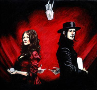 The White Stripes by NuclearKitty