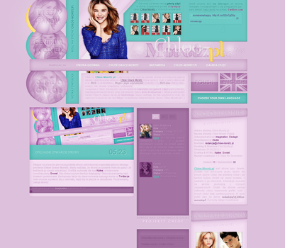 Chloe-Moretz.pl Wordpress Theme by keepmakingmelaugh