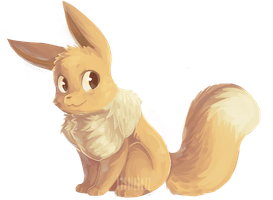 eevee by hunniebuzz