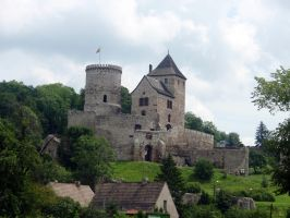 Bedzin castle by Woolfred