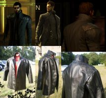 Deus Ex: Adam Jensen-Jacket by QueenToast