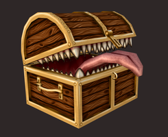 3D Treasure Trap by Kaalii