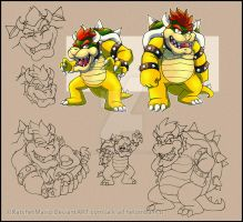 Bowsers Styles by RatchetMario