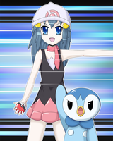 Piplup, Use Bubble Beam by Damaged927