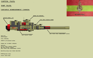 Tartarus Bombardment Cannon MK.2 by EmperorMyric