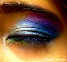 Eternal Sonata Eye Makeup by hikarianimelover
