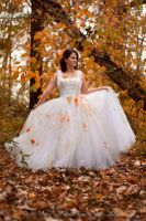 Trash The Dress Pumpkin Edition 02 by MeetMeAtTheLake2Nite