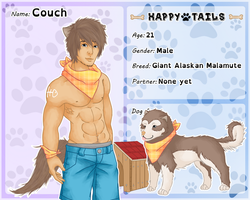 Happy Tails App- Couch by ArtyyTart