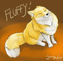 Fox Fluff by Travis-Anderson