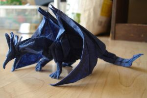 Ancient Dragon-Kamiya3 by origami-artist-galen