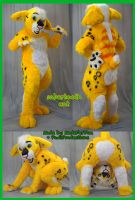 MadeFurYou sabertooth suit by PlushiePaws