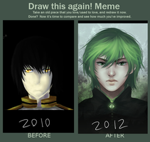 Improvement meme by Dragons-Roar