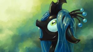 Chrysalis Portrait 3 by KP-ShadowSquirrel