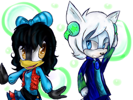Yuki and C0LD FUS3 colored by SkyTye